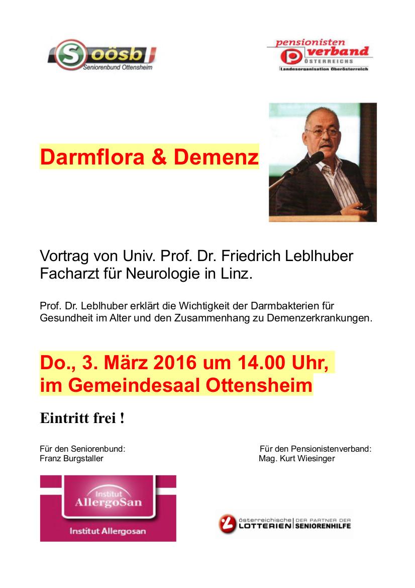 Einladung Dr. Leblhuber 3.3.16